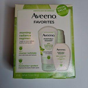Aveeno Positively Radiant Daily Scrub & Moisturize